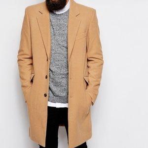 mans zara wool coat